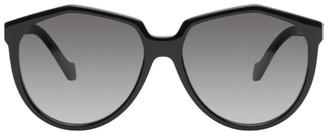 Loewe Black Oversized Sunglasses