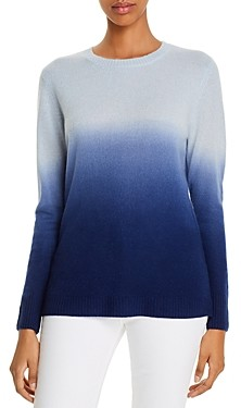 C by Bloomingdale's Cashmere Dip-Dyed Sweater - 100% Exclusive