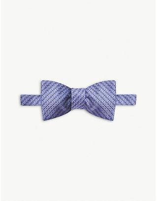 Eton Dot-print silk bow tie