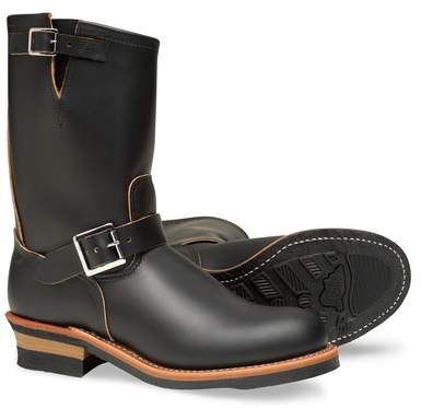 Red Wing Shoes 11 Inch Engineer Leather Boot - Factory Second