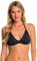 Jets Parallels Triangle Bralette Bikini Top (C/D Cup) 8148587