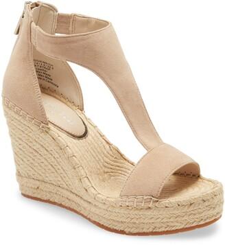 Kenneth Cole New York Olivia T-Strap Wedge Sandal