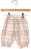 Burberry Girls' Nova Check Pants