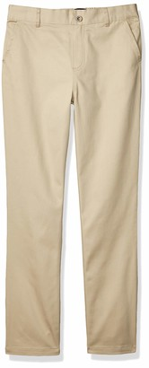 French Toast Girls' Pull-On Twill Pant (Standard & Plus)
