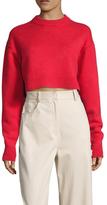Tibi Cashmere Ribbed Sweater