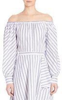 Elle Sasson Leandrea Cotton Off-The-Shoulder Blouse