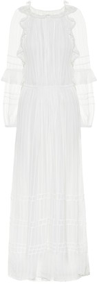 Etoile Isabel Marant Justine ruffled maxi dress