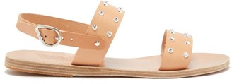 Ancient Greek Sandals Dinami Leather Slingback Sandals - Womens - Tan