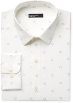 Bar III Men's Slim-Fit Horseshoe Print Dress Shirt, Only at Macy's