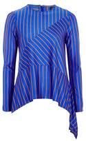 Topshop Cutabout Stripe Top