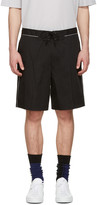 Lanvin Black Tie-up Shorts