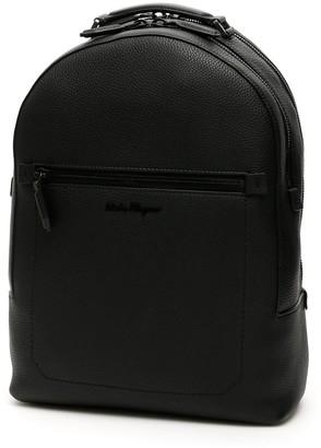 Salvatore Ferragamo Front Pocket Backpack