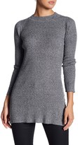 Blvd Long Sleeve Fitted Tunic