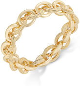 Charter Club Gold-Tone Large Link Bracelet, Only at Macy's