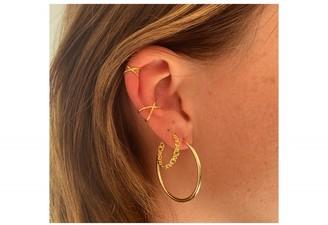Boho Betty Shaye Gold Plated Sterling Silver Earring Cuff