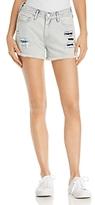 True Religion Kori Boyfriend Denim Shorts in Light Spectrum
