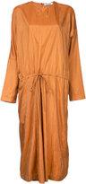 Jil Sander drawstring waist dress - women - Polyamide/Silk - 36