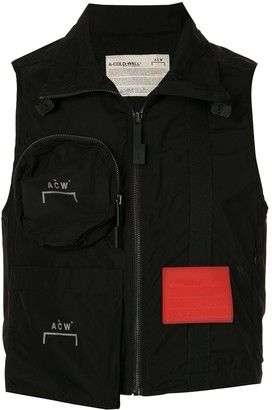 A-Cold-Wall* Zipped Pocket Gilet