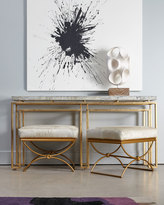 Cynthia Rowley for Hooker Furniture Brando Ottoman