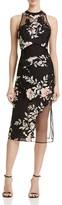 GUESS Alaura Floral Midi Dress