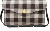 Mansur Gavriel Mini Baguette gingham shoulder bag