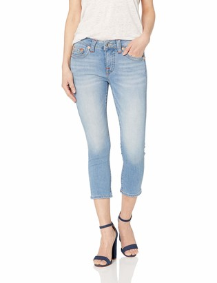 True Religion Women's Jennie Capri OM Contour