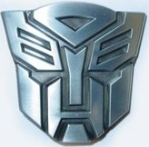 Private Label Transformers Autobot Optimus Prime Chrome Belt Buckle (Brand New)