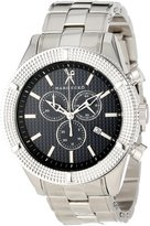 Ecko Unlimited Men's Saber M22504G3 Silver Stainless-Steel Swiss Quartz Watch with Dial