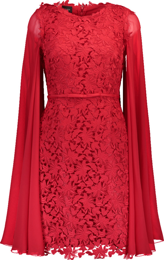 Giambattista Valli Abito Mantella Dress