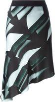 Ann Demeulemeester asymmetric skirt - women - Silk - 34