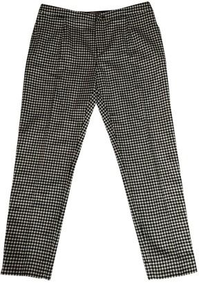 Bouchra Jarrar Black Wool Trousers for Women