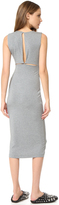 Alexander Wang Back Slits Sleeveless Dress