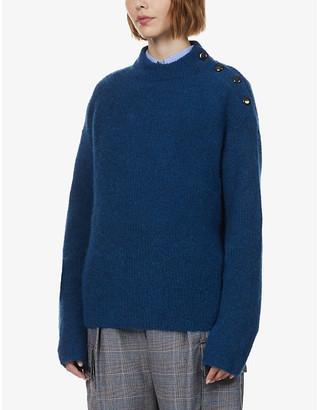 Sessun Funnel-neck knitted jumper