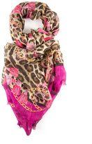 Dolce & Gabbana Animal Print Scarf