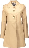 Larry Levine Camel A-Line Coat