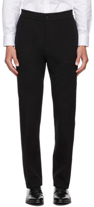 Dunhill Black Side Band Track Pants