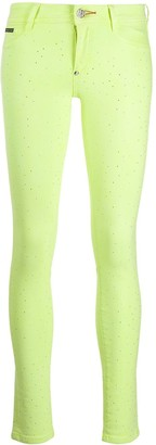 Philipp Plein Fluorescent Jeggings