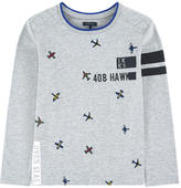 Ikks Embroidered T-shirt