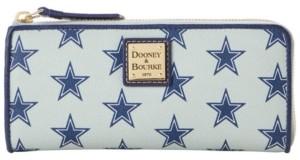 Dooney & Bourke Dallas Cowboys Saffiano Zip Clutch