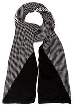 Chinti and Parker Cashmere Geometric Shawl