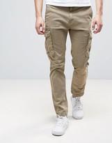 Celio Cargo Trouser In Slim Fit