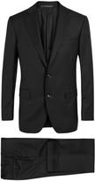 Pal Zileri Black Wool Suit