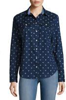 ST. JOHN'S BAY 2-Pocket Classic Shirt - Tall
