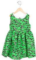 Stella Jean Girls' Ninfea Fish Print Dress w/ Tags