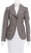 Marc Jacobs Notch-Lapel Wool Blazer