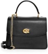 Coach Parker Leather Top Handle Bag