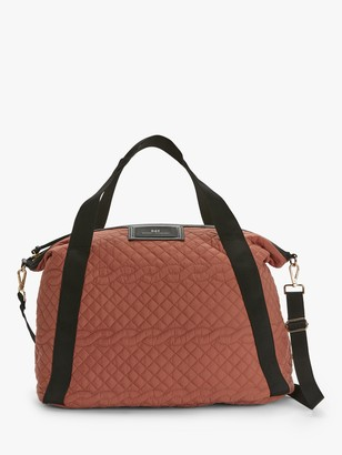Day Et DAY et Day Gweneth Cable Quilted Cross Strap Tote Bag, Peach