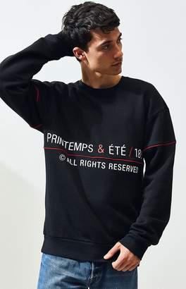 Reebok CL Vin Print Crew Neck Sweatshirt