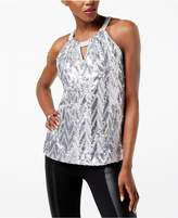 INC International Concepts Sequined Halter Top, Created for Macy's