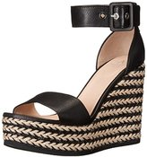 Aquatalia by Marvin K Aquatalia Women's Kady Thumbled Calf Wedge Sandal
